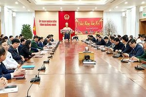 Quảng Ninh khẩn trương triển khai các biện pháp phòng, chống dịch viêm phổi cấp