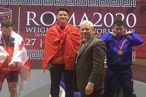 Thạch Kim Tuấn giành 3 ngôi vô địch World Cup cử tạ 2020