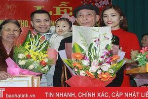 Hà Tĩnh tổ chức mừng thọ đầu xuân cho hơn 30.000 người cao tuổi