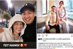 Phillip Nguyễn viết ngôn tình gửi Linh Rin và thực hiện lời hứa 'bước 999 bước' ra Hà Nội ăn Tết cùng bạn gái