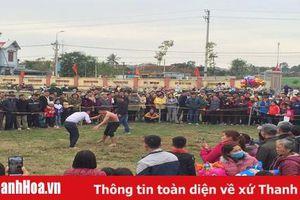 Tưng bừng hội đấu vật truyền thống xã Hoằng Phong xuân Canh Tý 2020