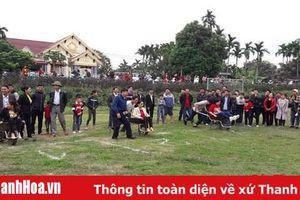 Huyện Vĩnh Lộc: Sôi nổi các trò chơi, trò diễn dân gian truyền thống dịp Tết Canh Tý 2020