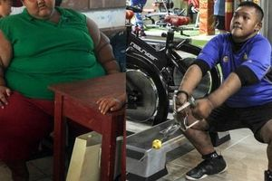 'Cậu bé nặng nhất thế giới' với gần 200kg sau 4 năm phẫu thuật thu nhỏ dạ dày giờ 'lột xác' không ai nhận ra