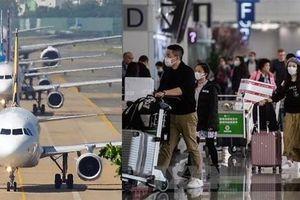 Nhiều hãng hàng không quốc tế hỗ trợ hành khách trước dịch viêm phổi Vũ Hán