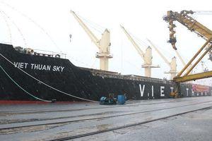 TKV rót 45.000 tấn than cho tàu 'xông đất' ngày đầu xuân Canh Tý