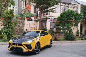 'Mãn nhãn' siêu xe Lamborghini Urus độ 'khủng' của đại gia Việt