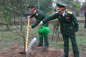 Bộ Chỉ huy Quân sự tỉnh Nghệ An phát động Tết trồng cây Xuân Canh Tý