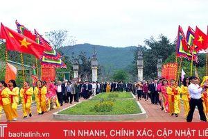 Chiều 13 tháng Giêng, Hà Tĩnh khai mạc Lễ hội Hải thượng Lãn Ông