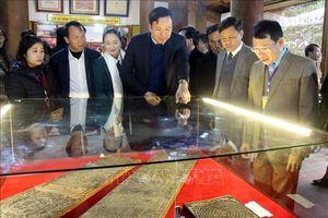 Triển lãm, trưng bày Bảo vật quốc gia 'Mộc bản chùa Bổ Đà'