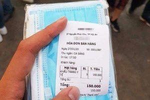 Sự thật về '3 chiếc khẩu trang' giá 150.000 đồng tại Quảng Nam