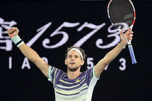 Dominic Thiem loại Nadal Rafael Nadal khỏi tứ kết Australia Mở rộng