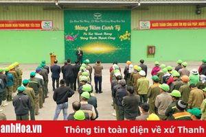 Công ty CP Công Nông nghiệp Tiến Nông ra quân sản xuất đầu năm