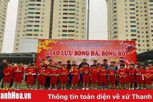 Giao lưu thi đấu bóng đá, bóng rổ, cầu lông bóng bàn mừng Đảng, mừng Xuân Canh Tý