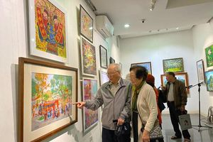 Tranh con giáp đương đại: Chuyển động tích cực của mỹ thuật Việt
