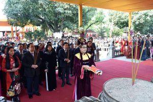 Lễ kỷ niệm 1980 năm khởi nghĩa Hai Bà Trưng, tôn vinh lòng yêu nước và ý chí dân tộc