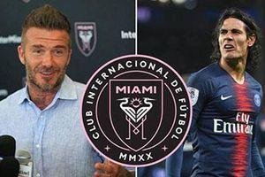 Beckham muốn đưa Cavani về đội bóng của mình