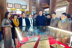 Bắc Giang: Khai mạc triển lãm, trưng bày 'Mộc bản chùa Bổ Đà'