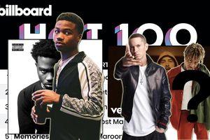 Kết quả BXH Billboard tuần này: Roddy Ricch tiếp tục thống trị No.1 với The Box, Eminem cùng nhân vật quá cố 'thâm nhập' top 5
