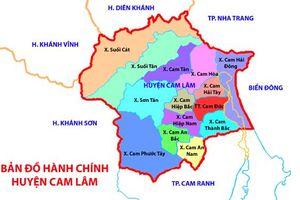 Kiểm kê đất đai và xây dựng bản đồ hiện trạng sử dụng đất năm 2019 xã Cam Hải Tây, huyện Cam Lâm, tỉnh Khánh Hòa