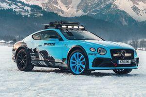 Bentley ra mắt siêu xe đua chạy trên băng Ice Race Continental GT