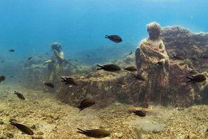 Cận cảnh thành phố La Mã từng dành cho tầng lớp siêu giàu chìm gần 2.000 năm dưới đáy biển