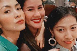 Hội bạn thân Tăng Thanh Hà 'gây sốt' vì vẻ đẹp không tuổi