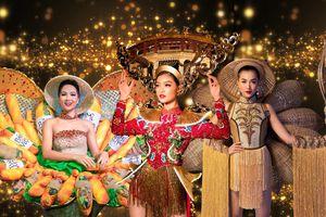 10 bộ trang phục dân tộc 'đẹp - độc - đắt' nhất của dàn hoa hậu Việt tại đấu trường nhan sắc quốc tế