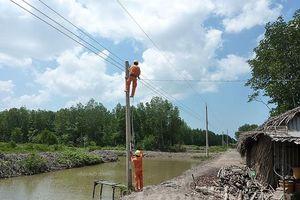 Hơn 3.000 hộ dân miền Nam có điện lưới quốc gia