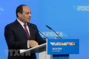 Tổng thống Ai Cập nêu rõ lập trường về vấn đề Palestine