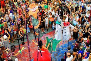 Rio Carnival: Chuẩn mực của lễ hội hóa trang