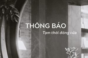 Trước tình trạng virus corona, một nhà hàng tại Hà Nội đã đóng cửa tạm thời để phòng tránh lây lan