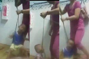 Mẹ cột dây vào cổ, bạo hành con 3 tuổi: Giận mẹ đẻ... ra đòn hại con?