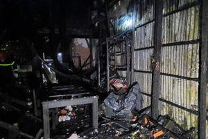 Hỏa hoạn thiêu rụi 2 căn nhà ở An Giang