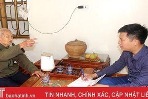 Cụ ông Hà Tĩnh kể về hành trình vinh quang 72 năm đi theo Đảng