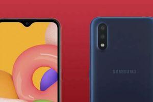 Samsung ra mắt Galaxy A01 2 camera sau, giá 2,8 triệu đồng