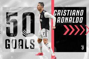 Lập cú đúp, Ronaldo chạm 'siêu kỷ lục' trong màu áo Juventus