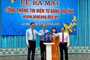 90 năm Ngày thành lập Đảng: Ra mắt Cổng thông tin điện tử Đảng bộ tỉnh An Giang