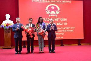 Hơn 2.600 tỷ đồng đầu tư tổ hợp sản xuất, lắp ráp ô tô tại Thừa Thiên Huế