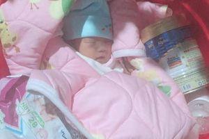 Bé gái sơ sinh 3 ngày tuổi bị bỏ rơi dưới chân tượng Phật lúc nửa đêm