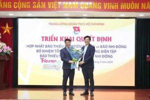 BÁO TNTP VÀ NHI ĐỒNG-Báo dành cho học sinh tiểu học, THCS