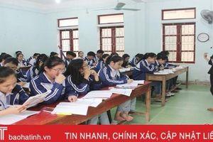 250 giáo viên Hà Tĩnh được công nhận giáo viên cốt cán cấp tỉnh