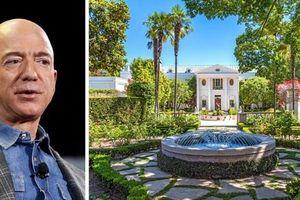 Tỷ phú Jeff Bezos lại xuống tiền mua biệt thự đắt nhất nước Mỹ