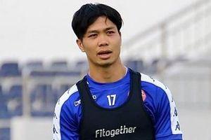Công Phượng và đồng đội phải đến Myanmar thi đấu