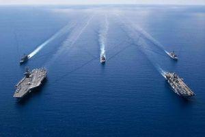 Năm 2019, Mỹ triển khai tuần tra tự do hàng hải nhiều kỷ lục trên Biển Đông