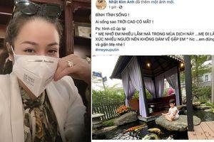 Nhật Kim Anh nhớ con mà vì 'tiếp xúc quá nhiều người không dám về gặp con'