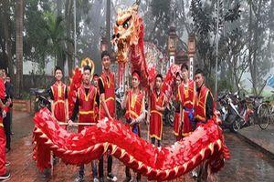 Từng bừng lễ hội truyền thống làng nghề Phụng Công
