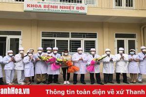 Phòng chống nCoV: Phía bên trong Khoa Bệnh nhiệt đới - Bệnh viện Đa khoa tỉnh Thanh Hóa…