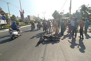 Vạn Ninh: 2 xe máy tông nhau, 1 người bị thương
