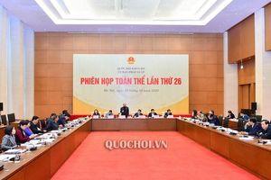 Ủy ban pháp luật cho ý kiến sắp xếp đơn vị hành chính cấp huyện, xã