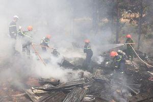 Đà Lạt: Đốt thực bì làm cháy rụi một căn nhà cấp bốn